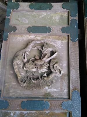 榛名神社の龍